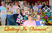 Quilting In Vermont