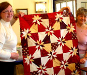 Quilting at the Strong House Inn