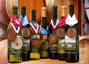 Award-winning wines of Shelburne Vineyards