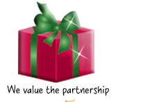 Gifts that say, We value the partnership