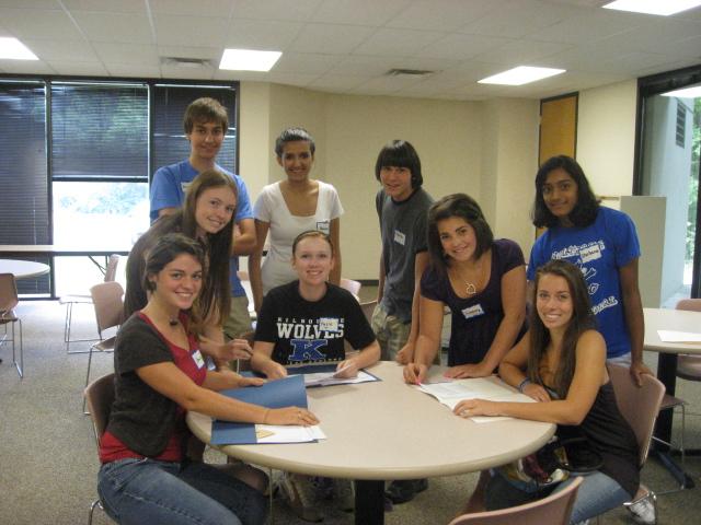 Food Bank Volunteer Highschool Students