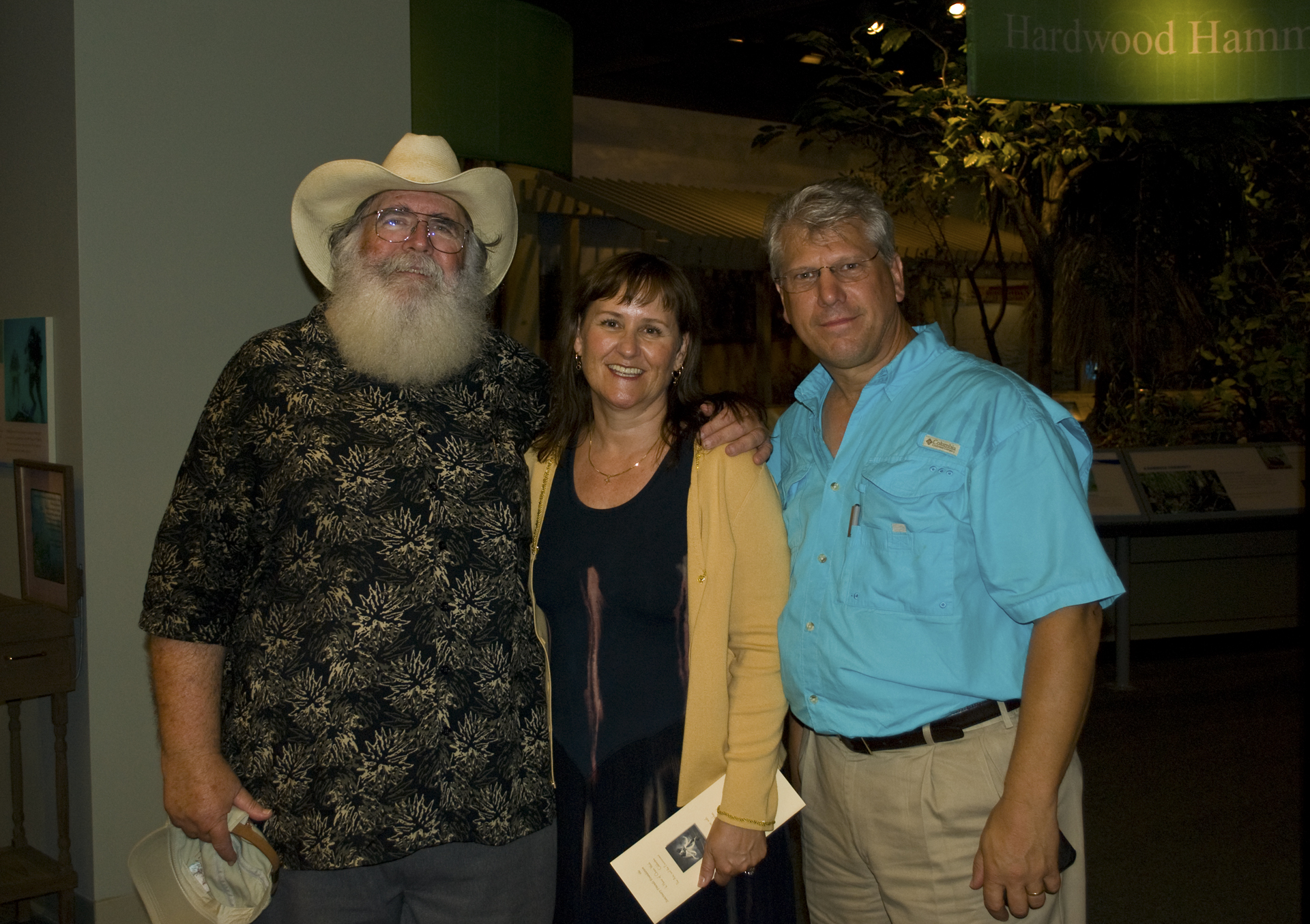 Clyde Butcher, Dolly Garlo and Elam Stoltzfus