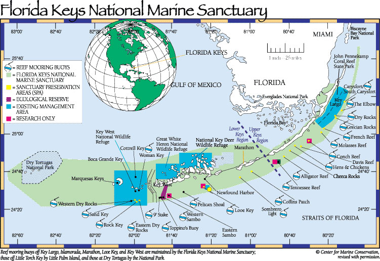 Marine Protected Areas in the Keys