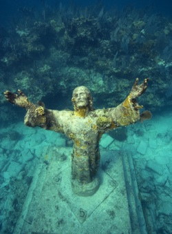 Christ of the Abyss by Stephen Frink
