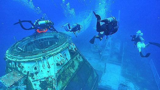 Diving the Vandenberg