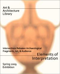 Elements of Interpretation poster